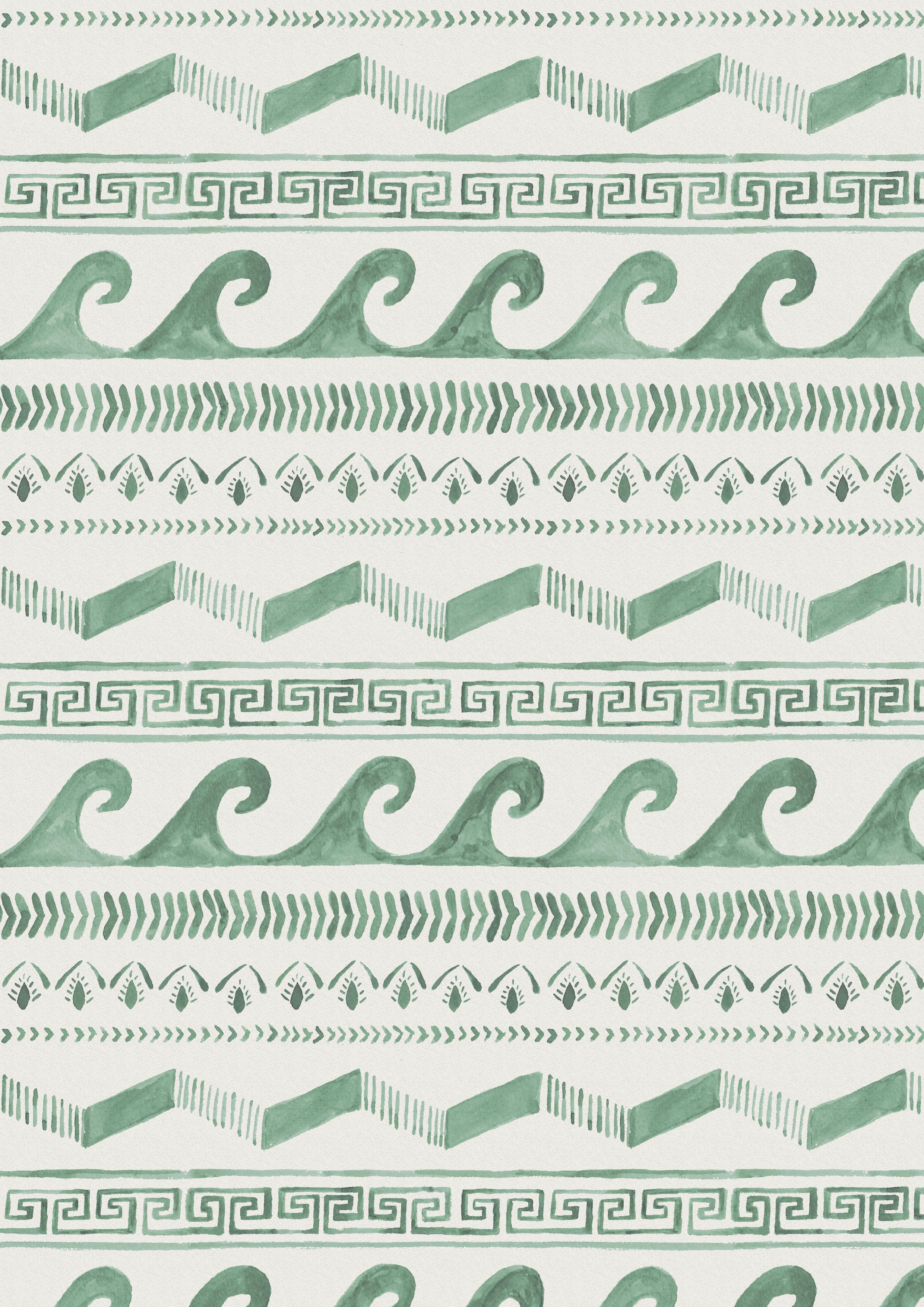 turquoise frieze