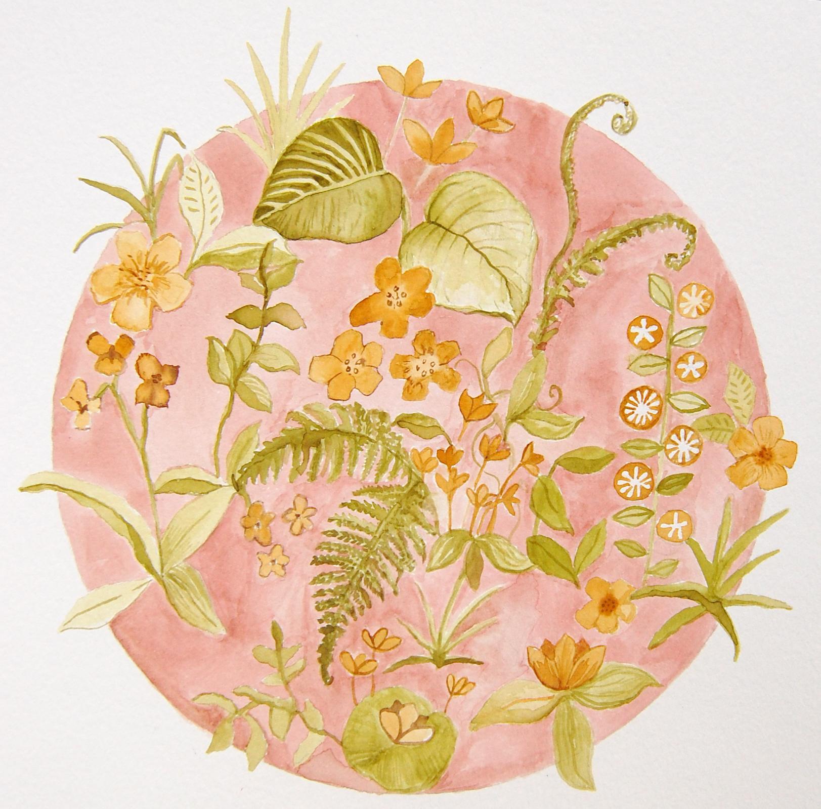 Floral (watercolour) 2016
