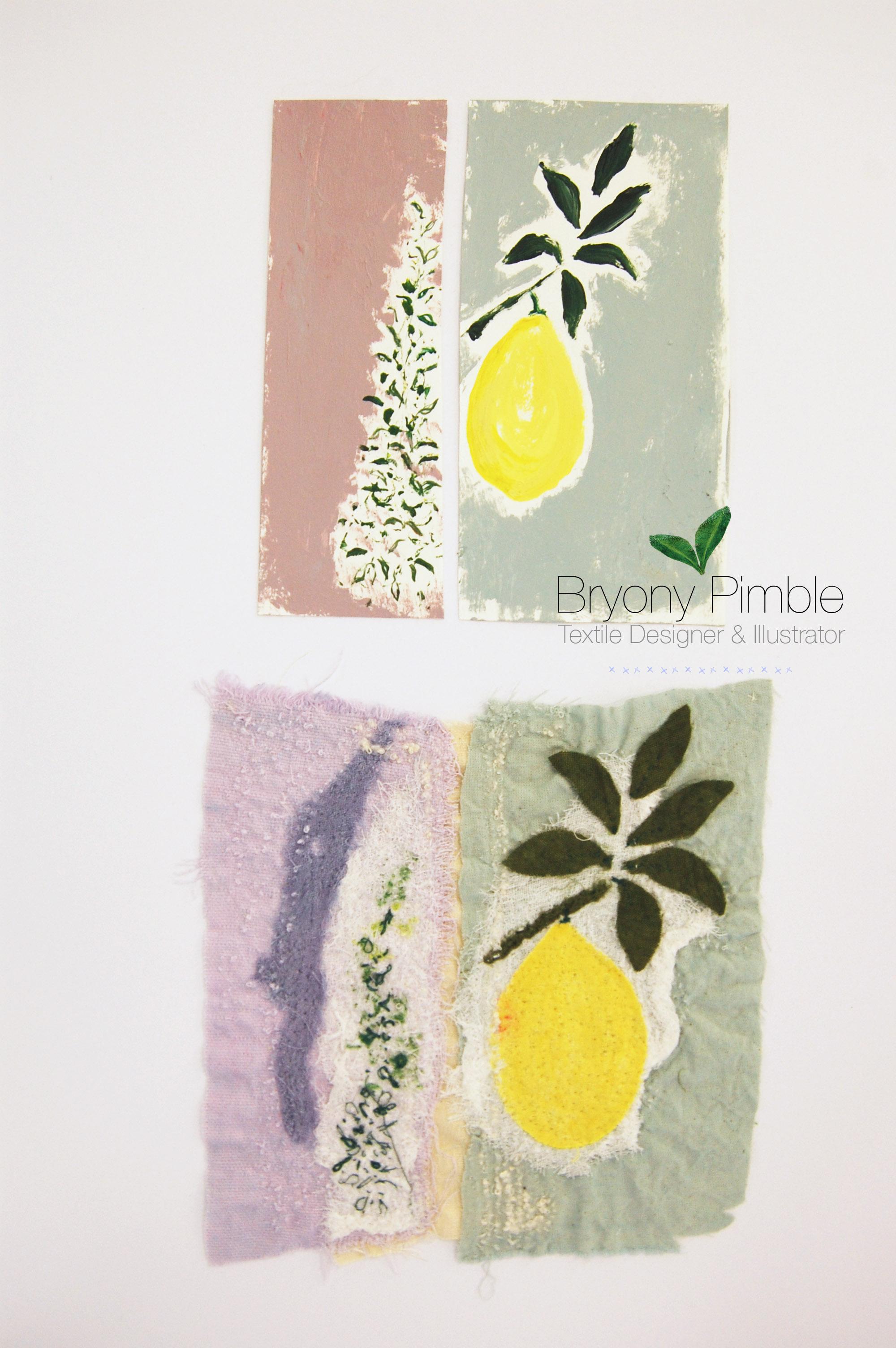 stitch lemon