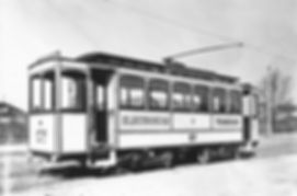 München Tram Triebwagen A1.1 1898 57 Anlieferung