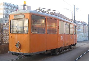 SALZSTREUWAGEN TYP SA 2.30 2931 münchen tram