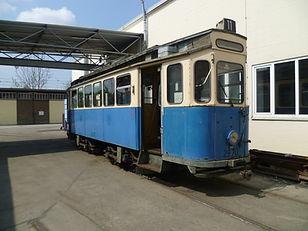 Tram Typ G 1.8, München 676