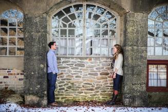 Mason + Emily {Winter Engagement Session}