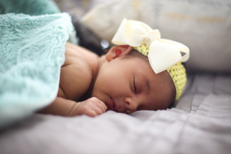 Demi Elizabeth Christopher {Newborn Session}