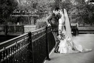 Dan + Sarah {Columbia Station Wedding}