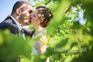 Brandon + Corinne {Rosebank Winery Wedding}