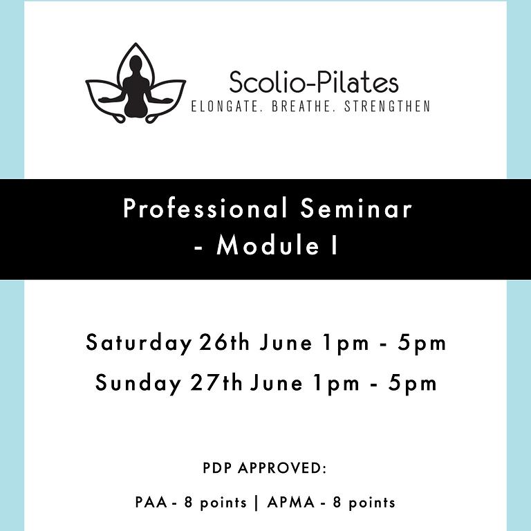 Scolio-Pilates® Module I