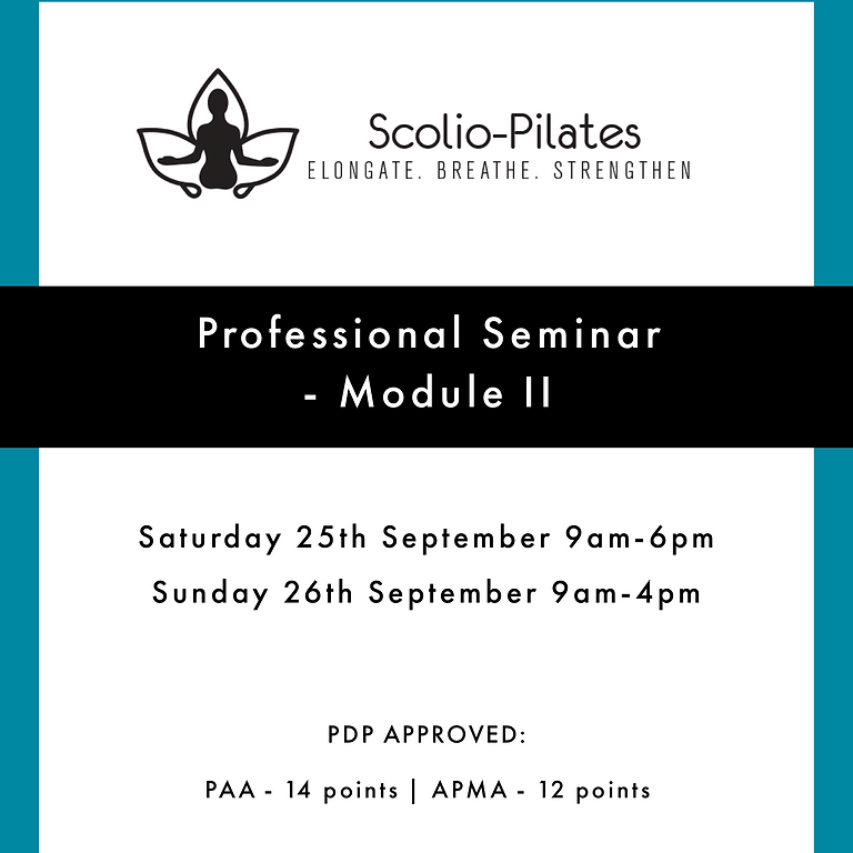 Scolio-Pilates® Module II 2021