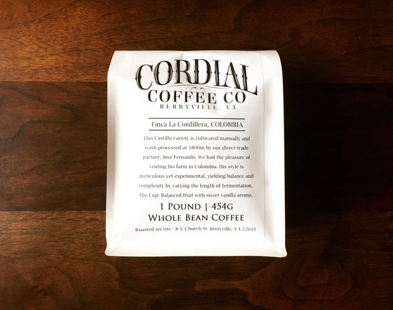 Review #51: Cordial Coffee Co.