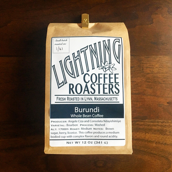 Review #22: Lightning Coffee Roasters