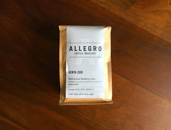 Review #85: Allegro Coffee Roasters