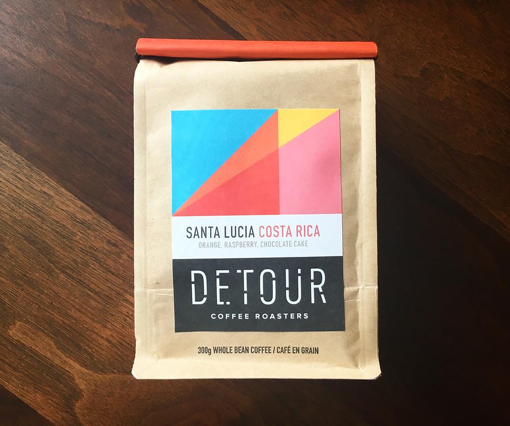 Detour Coffee Roasters - Santa Lucia Costa Rica
