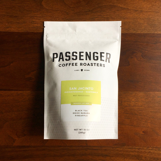 Review #36: Passenger Coffee Roasters