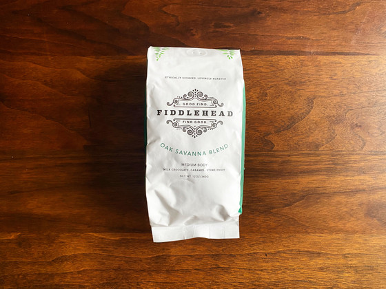 Review #118: Fiddlehead Coffee Co.