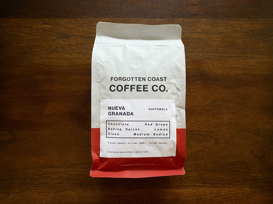 Review #133: Forgotten Coast Coffee Co.