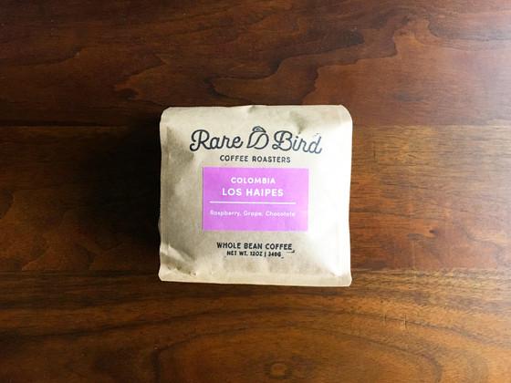 Review #81: Rare Bird Coffee Roasters