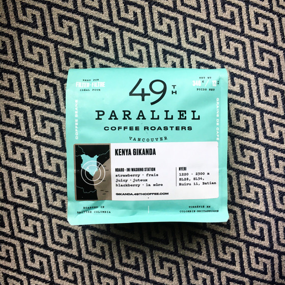 Review #8: 49th Parallel Coffee Roasters