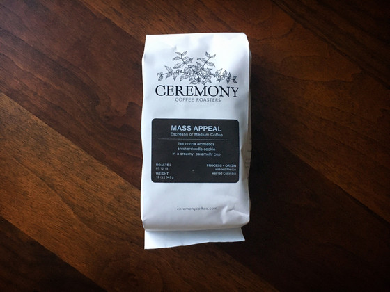 Review #43: Ceremony Coffee Roasters
