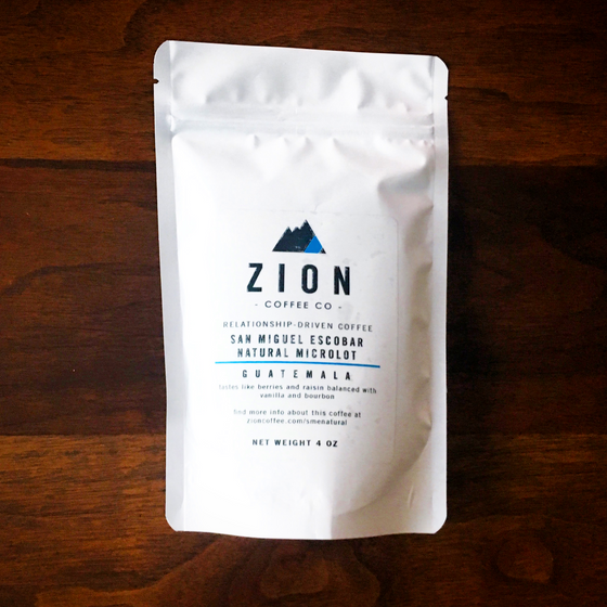 Review #14: Zion Coffee Co.