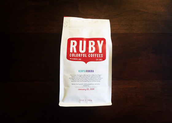 Review #69: Ruby Coffee Roasters