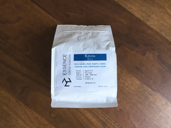 Review #79: Essence Coffee Roasters