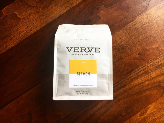 Review #72: Verve Coffee Roasters