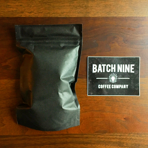 Review #16: Batch Nine Coffee Company
