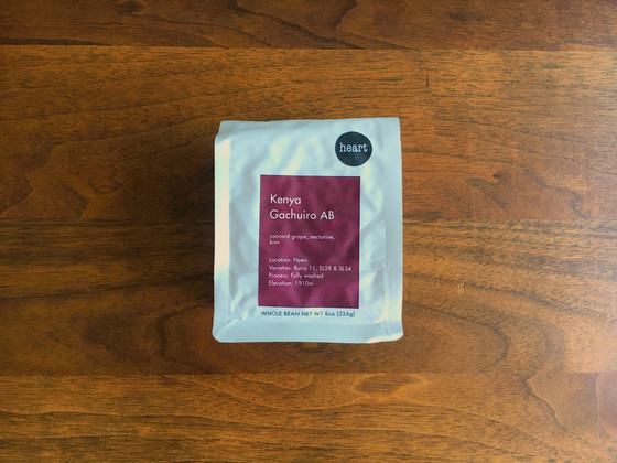 Review #100: Heart Coffee Roasters