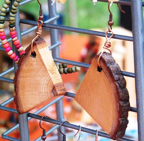 Maplewood Earrings Hand-Cut