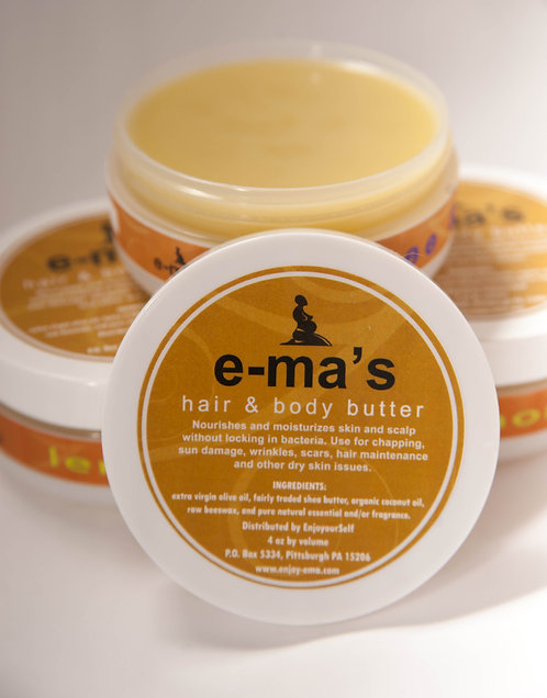 Lemongrass Hair and Body Butter