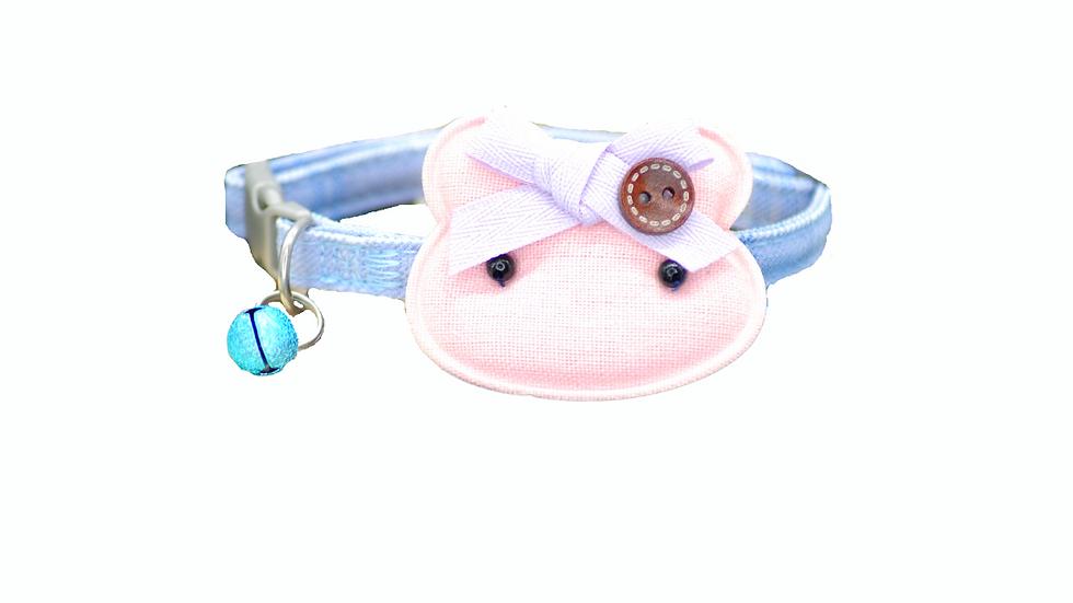 Cat Collar: Blue Plaid