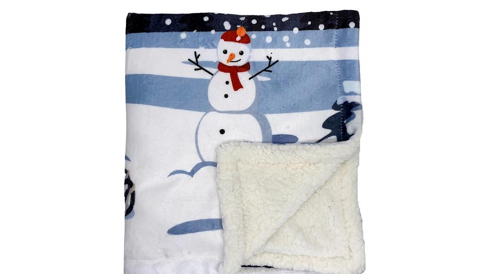 Pet Blanket: Waiting For SantaPaws