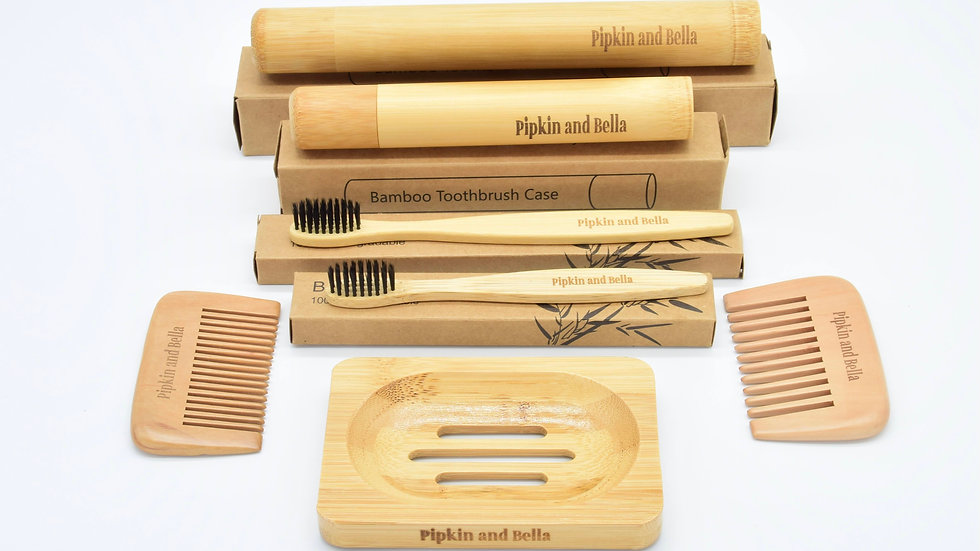 Bamboo Grooming Gift Set