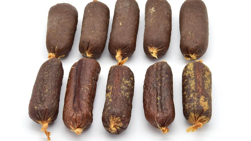 Liver & Venison Sausages