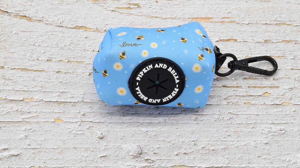 Bee Love Poop Bag Holder