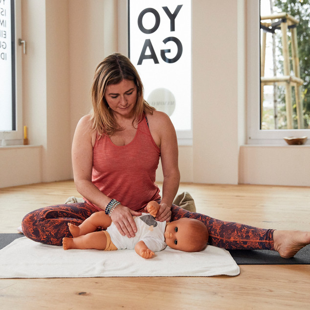 Ayurveda Babymassage