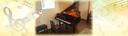 鈴木ピアノ教室、レッスン室