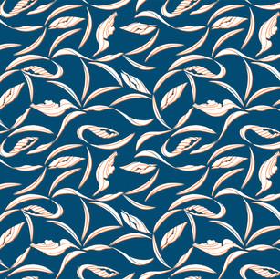Pelican Wave Collection - Dark Blue Waves