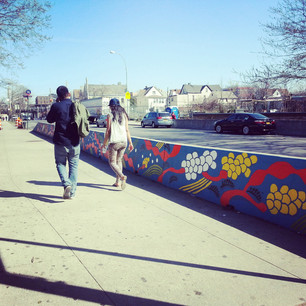 Spring Wind Mural : North Side