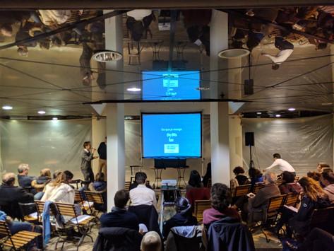 Présentation des Shifters de Bruxelles à travers notre première conférence