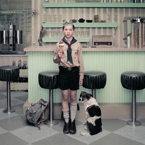 The Ice Cream Parlor | From the series Rain | Erwin Olaf | 2004