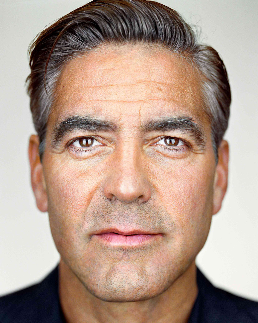 George Clooney | From the series Close Up | Martin Schoeller | 2008