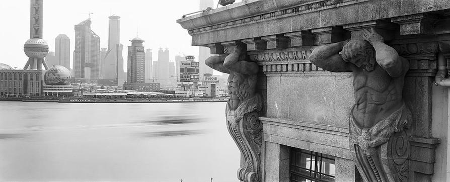 上海,老上海新闻大厦 | 康蘭絲 | 1999
