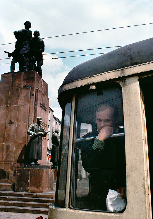 "Poland. Warsaw. Praga. Monument to the glory of the Red Army (Monument to Brotherhood in Arms, colloquially known as ""the four sleepers"") 