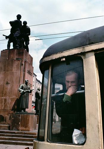 波兰,华沙,普拉加。苏波战斗兄弟情谊纪念碑 | 布鲁诺·巴贝 | 1981