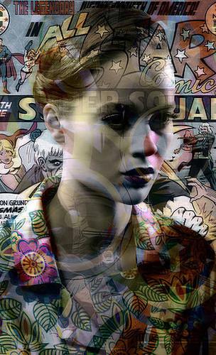 超能女孩 | 来自系列作品《全明星》| 瓦莱丽·蓓琳 | 2016