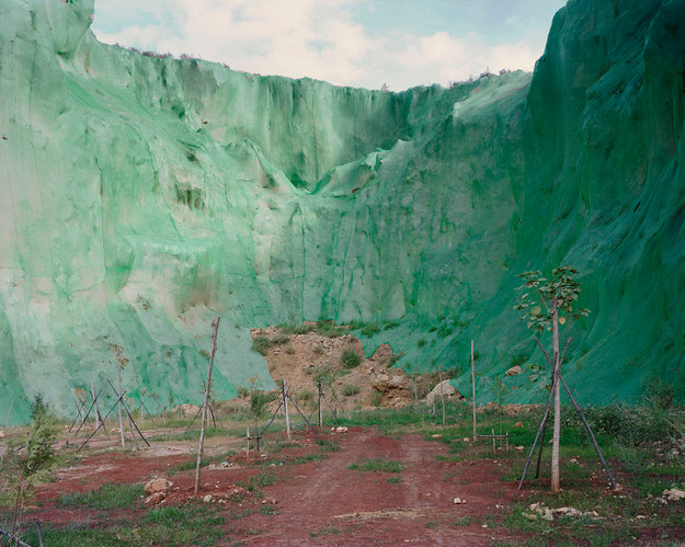 Puhejing Quarry Ecology Recovery Project, Dali, China | From the series Forest | Yan Wang Preston | 2017