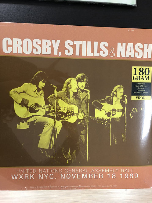 Crosby, Stills & Nash – Best Of United Nations General Assembly Hall WXRK NYC.