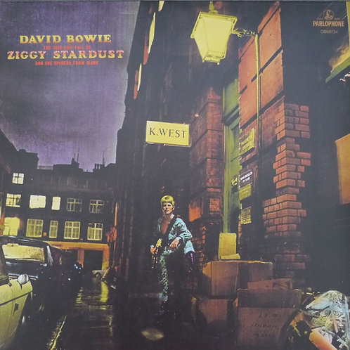David Bowie – The Rise And Fall Of Ziggy Stardust And The Spiders From Mars