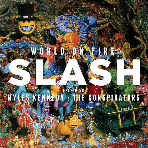 Slash Featuring Myles Kennedy & The Conspirators – World On Fire